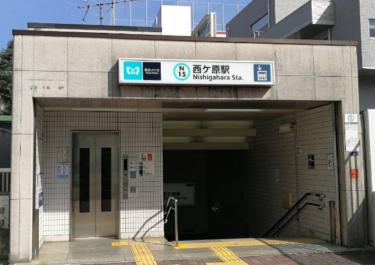 北区エリア 西ヶ原駅周辺