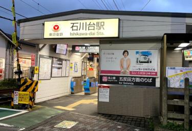 大田区エリア 石川台駅周辺